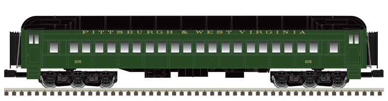 P&WV Passenger Car